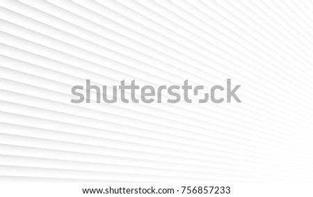 Geometric white background. Panel on the wall in perspective #756857233