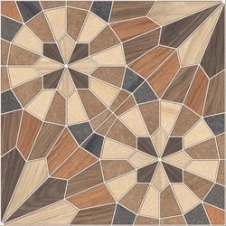 Geometric Wood Texture Tiles, Parking and Floor Tiles Designing
