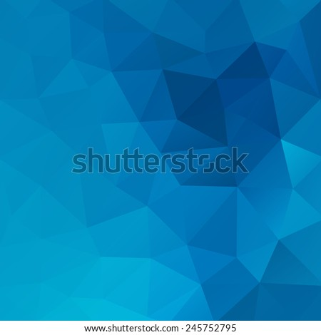 Geometrical triangular background