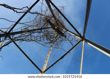 Geometrical windmill structure #1019725456