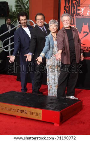 Rita Moreno george chakiris and russ tamblyn