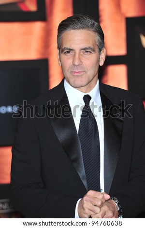 George Clooney at the 13th Annual Critics' Choice Awards at the Santa Monica Civic Auditorium. January 7, 2008  Los Angeles, CA Picture: Paul Smith / Featureflash