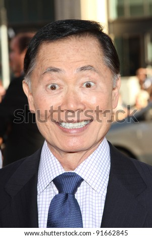 """George Takei at the """"Larry Crowne"""" World Premiere, Chinese Theater, Hollywood, CA. 06-27-11"""
