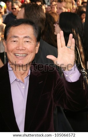 George Takei at the Los Angeles Premiere of 'Star Trek'. Grauman's Chinese Theatre, Hollywood, CA. 04-30-09