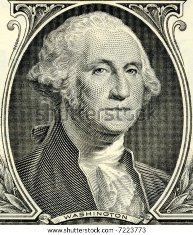 George Washington - stock photo