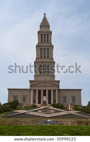 George Washington Masonic National Memorial in Alexandria, VA, USA.