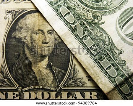 George Washington on a one dollar bil.