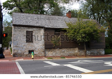 George Washington's Office in Winchester, VA