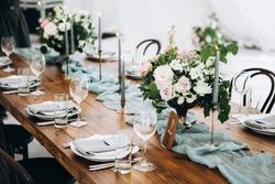 Georgeous wedding table setting