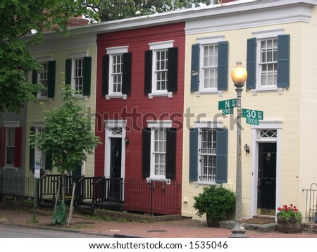 georgetown rowhouses