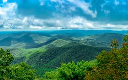 Georgia Blue Ridge Mountains Horizon