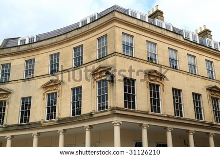 Georgian Architecture- City Of Bath, England Stock Photo 31126210 ...