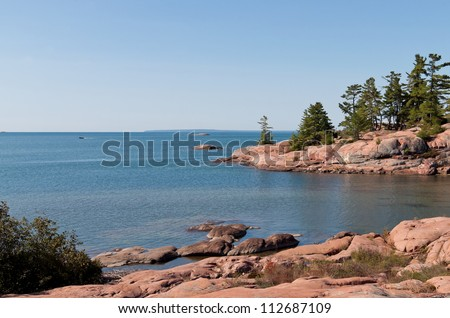Georgian Bay coastline