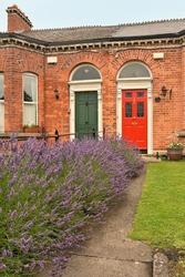 Georgian doors in Dublin, Ireland