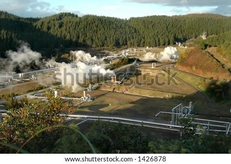 Geothermal Power Field