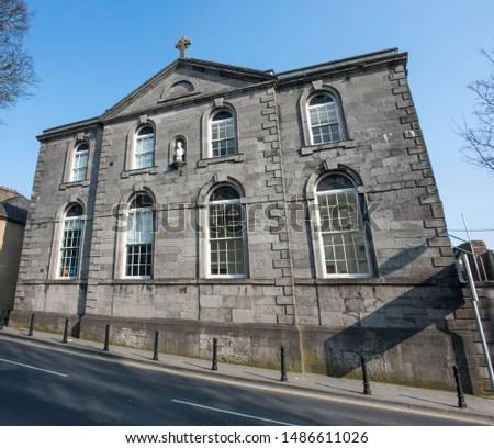 Gerald Griffin Memorial School Limerick Ireland Stockfoto ©
