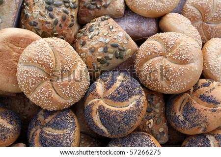 German Bread - Various Bread Rolls