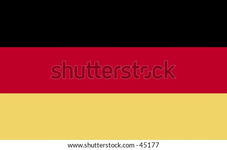 German flag - plain