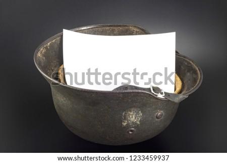 german helmet mockup