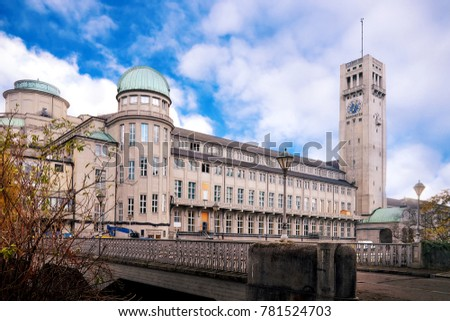 German Museum (Deutsches Museum) in Munich, Germany, the world's largest museum of science and technology