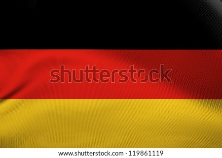 German national flag.