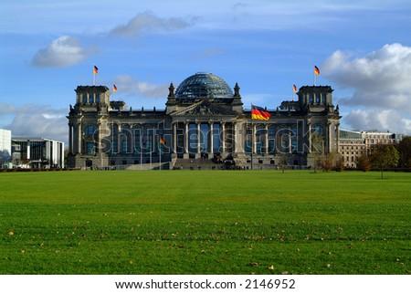 german reichstag (parliament) in berlin