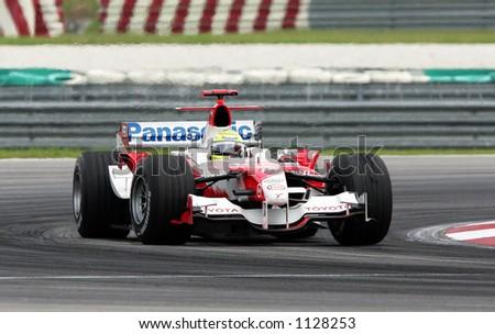 German\'s Formula one driver Ralf Schumacher of Panasonic Toyota Racing Team, 2006