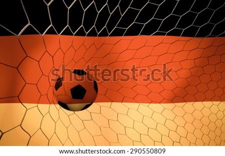 German soccer ball Color Vintage #290550809