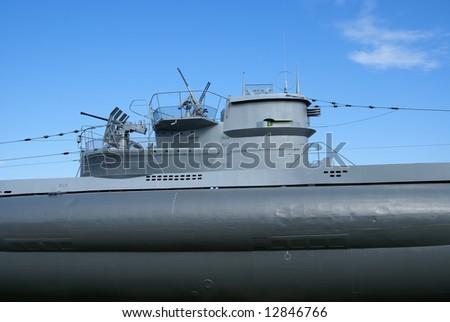 German submarine of World War II