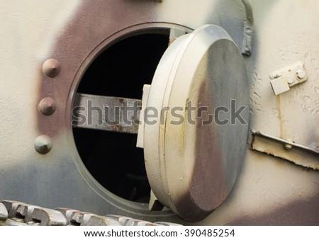 German tank side door #390485254