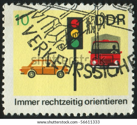 germany   circa 1969  stamp...