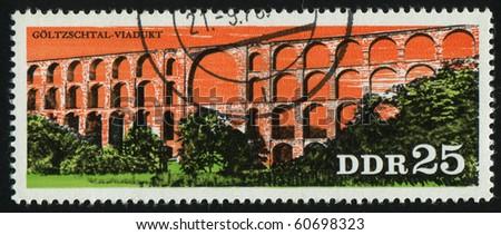 germany  circa 1976  stamp...