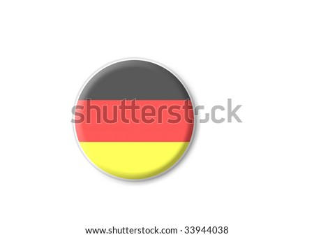 germany flag sign - stock photo