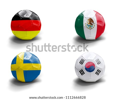 Germany, Mexico, Sweden, South Korea #1112666828