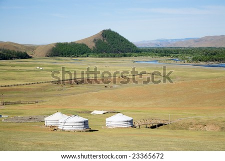 Gers Terelj Mongolia Central Asia