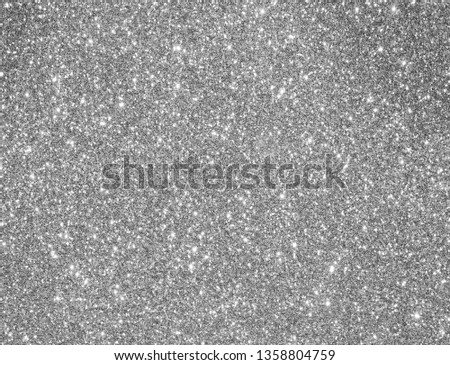 gery silver glitter background in landscape format