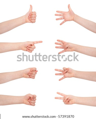 gesture communication signs