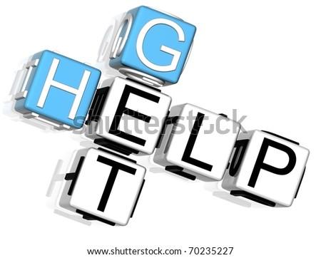 Get Help Crossword