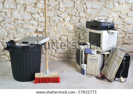 get rid of old computer equipment