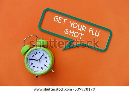 Get Your Flu Shot, Health Concept #539978179