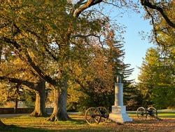 Gettysburg PA Cemetery history nature