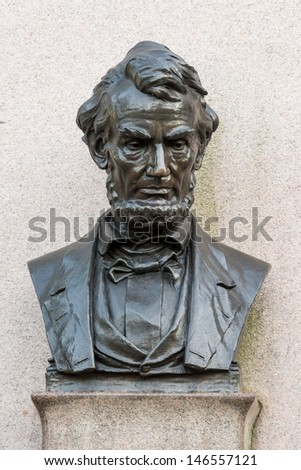 GETTYSBURG, PENNSYLVANIA - JULY 6: The Lincoln Address Memorial monument in the Soldiers' National Cemetery on July 6, 2013 in Gettysburg, Pennsylvania