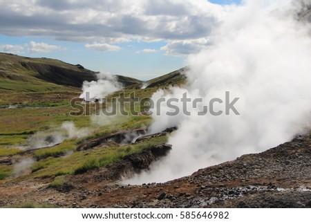 geyser island