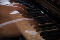 ghost hands play the piano