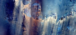 ghost in the desert, abstract photography of the deserts of Africa from the air. aerial view of desert landscapes, Genre: Abstract Naturalism, from the abstract to the figurative, contemporary photo