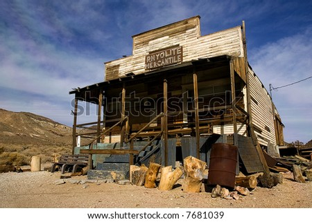 Ghost Town at Nevada