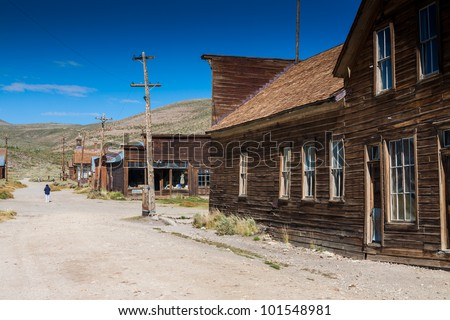 Ghost town Bodie state park