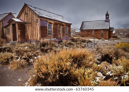Ghost Town Building - Bodie, California