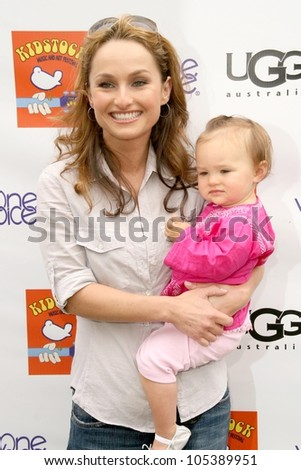 Giada De Laurentiis and daughter Jade  at the Third Annual Kidstock Music and Arts Festival. Greystone Mansion, Beverly Hills, CA. 05-31-09
