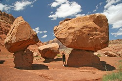 Giant Boulders - Marble Canyon, Arizona, United States